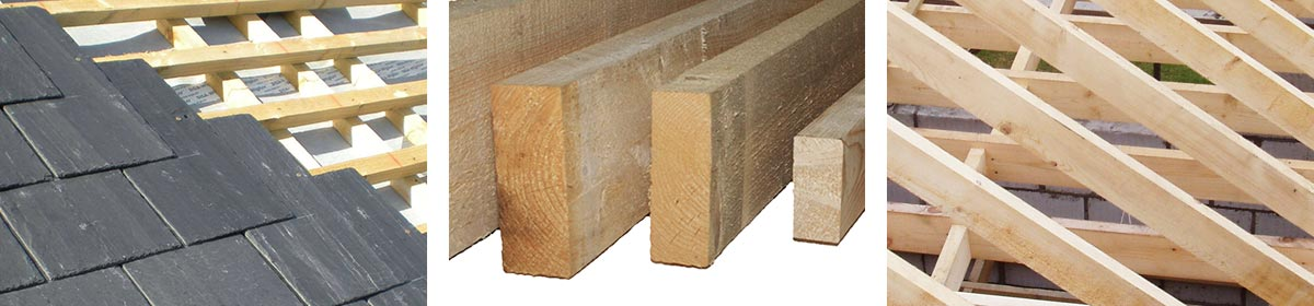 Roofing Laths and Roof Timber