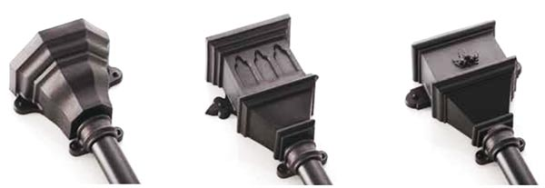 Authentic Cast Iron Style Gutter Systems