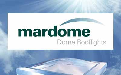 Mardome - Brett Martin - Flat roof domes