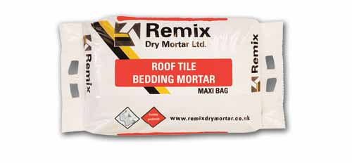 Remix Roof Tile Bedding Mortar Ready Mixed Roofing Mortars