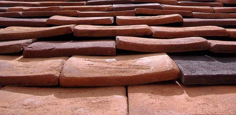 Handmade Sahtas Traditional Roof Tiles